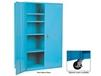 EXTRA HEAVY-DUTY STORAGE CABINET - WITH CASTERS