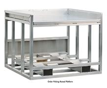 ORDER PICKING RAISED PLATFORMS